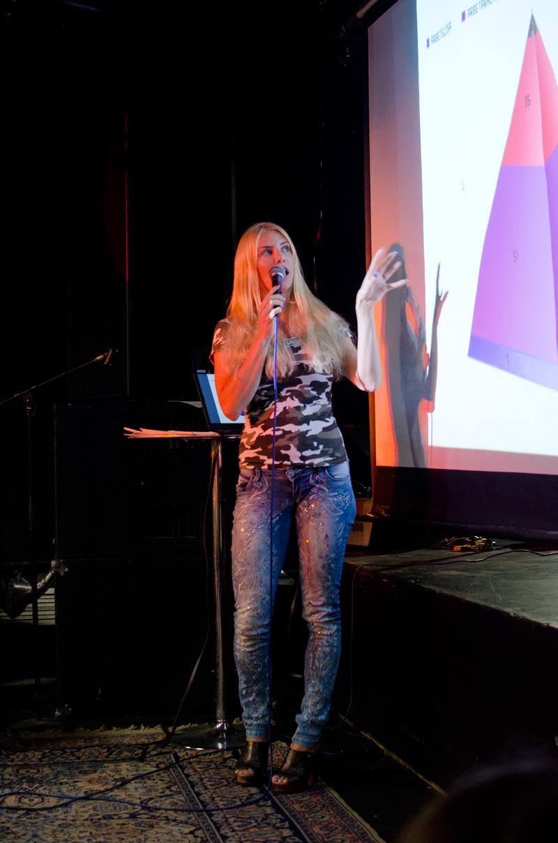 Kajsa Ekis Ekman. Foto: Siri Larsson