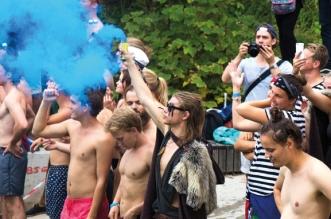 De flesta studenter som svarat på Lundagårds enkät är nöjda med sin nollning. Många tycker dock att det har varit svårt att plugga samtidigt. Foto: Christina Zhou.