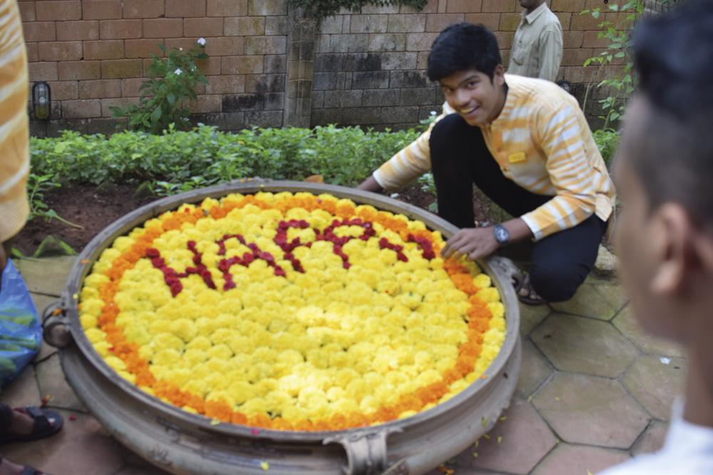 indien-blommalning