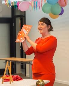 Magdalena Stadler är ansvarig för Lundakarnevalens tidning Framtidningen. Foto: Xche Balam