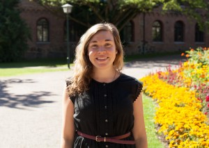 Västgöta nations kurator Jonna Restin. Foto: Casper Danielsson