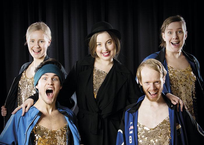 """Bidraget """"Allt jag vill ha"""" med Ulla Reed är ett av många som tävlar i Malmö musikhögskolas melodifestival. foto: Leif Johansson/SMASK."""
