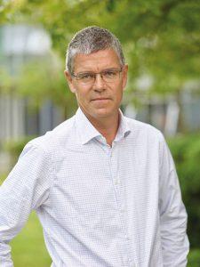 Henrik Krantz, vd för AF Bostäder. Foto: Nicklas Rudfell.